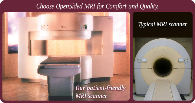 Open V Closed Mri